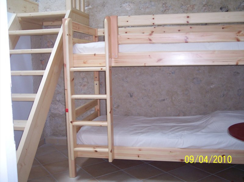 Vakantiehuisjes gites te huur in zuid frankrijk provence verdon aan de lac ste croix figuier - Bed kind met mezzanine kantoor ...