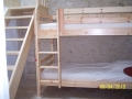 Huisje Bieke kamer 2 - mezzanine met stapelbed bed.a